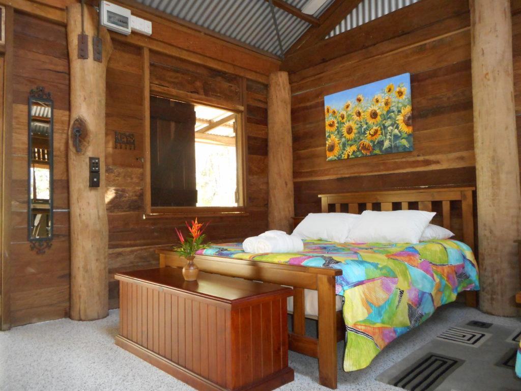 Interior Wompoo Cabin Byfield