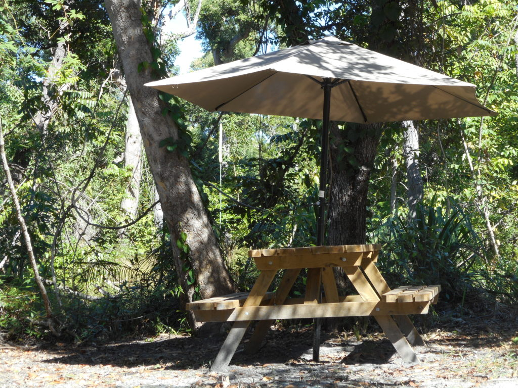 Shady Seating Byfield Cabins